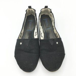 *4for$25 MAD LOVE Canvas Slip On Flats SIZE 6